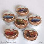 1145 - cars cupcakes