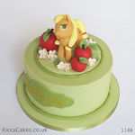 1146 - applejack my little pony cake