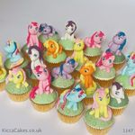1147 - my little pony cupcakes