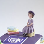 1153 - scool girl graduation cake - version 2