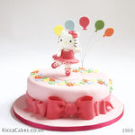 1160 - hello kitty ballerina cake