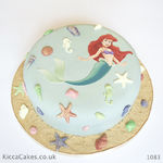 1083 small mermaid cake