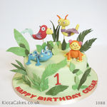 1088 fisher price rain forest cake