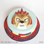 1093-1094 lego chima birthday cake
