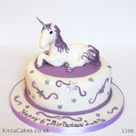1100 unicorn kids cake