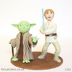 1102 star wars cake topper