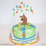 1118 - scooby doo birthday cake