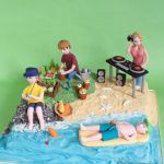 1252---Retirement-Hobby-Cake---Fishing-Gardening-DJing-Sunbathing--webw1