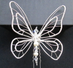YARA: Butterfly Bridal Hair Pin