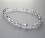 Swarovski Bracelet with Graduating AB crystals