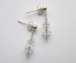 Swarovski AB Crystal Drop Earrings