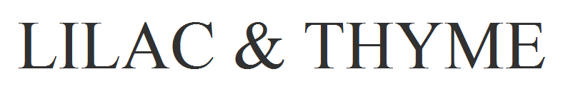 LILAC & THYME, site logo.