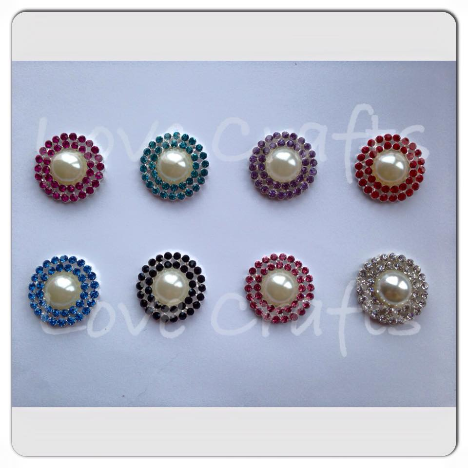 Double Bling Pearl Centres