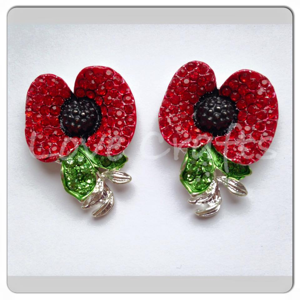 Bling Poppies