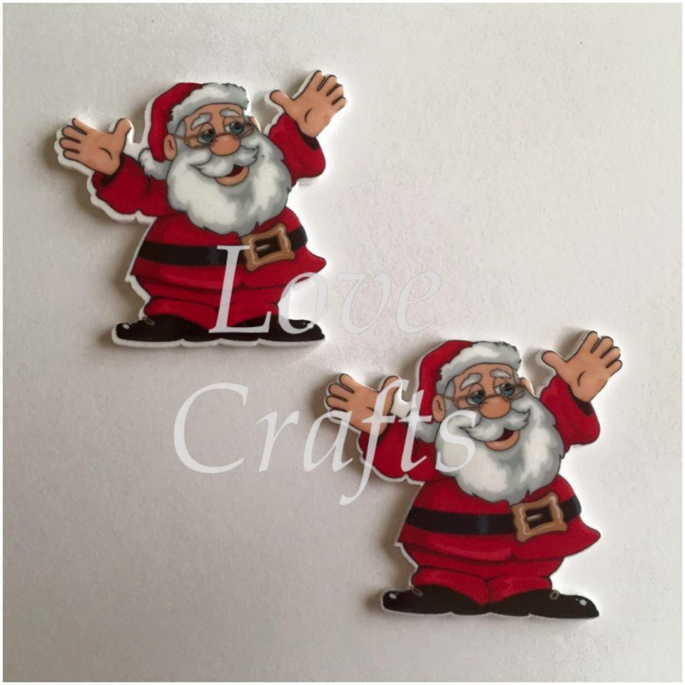 Santa Laser Cut Resin