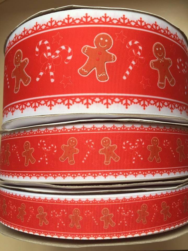 Red Gingerbread Grosgrain