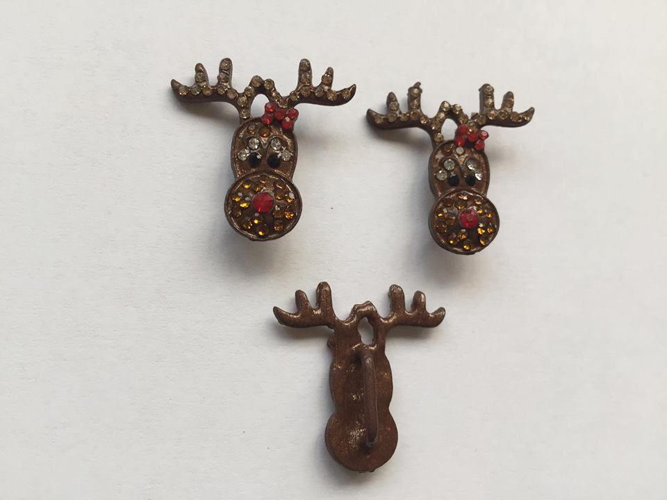 Bling Brown Reindeer