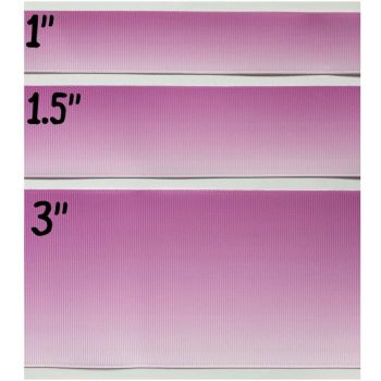 Lilac Ombre Grosgrain Ribbon