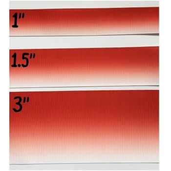 Red Ombre Grosgrain Ribbon
