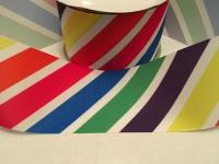 "3"" Rainbow Stripes Grosgrain Ribbon"