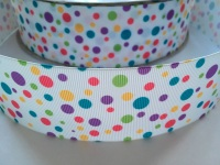 "2"" Spotty Dotty Grosgrain Ribbon"