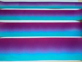 Purple/Blue Ombre Grosgrain Ribbon