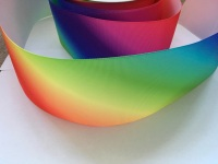 "3"" Diagonal Ombre Grosgrain Ribbon"