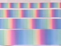 Love Crafts Pastel Rainbow Grosgrain Ribbon
