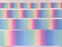 Love Crafts Pastel Rainbow Grosgrain Ribbon