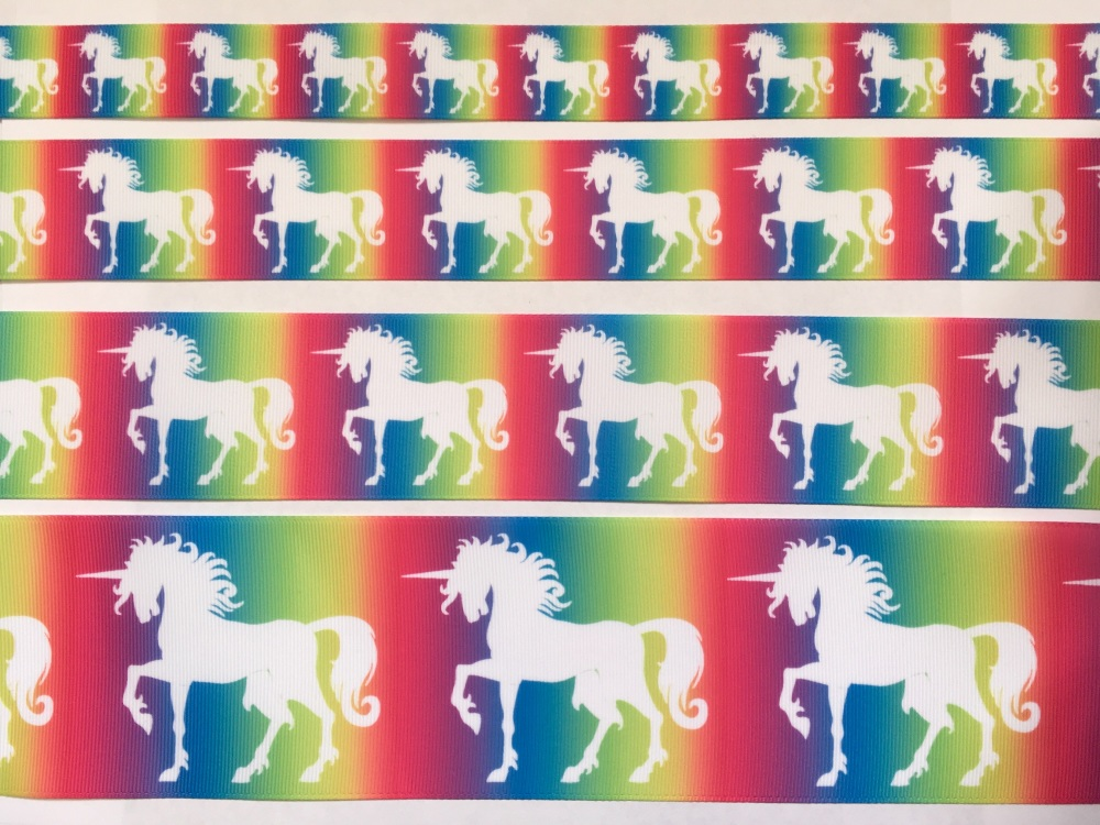 Love Crafts Unicorn Grosgrain Ribbon