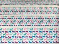 Multi Unicorn Grosgrain Ribbon