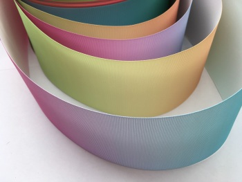 "3"" Colour Change Grosgrain Ribbon"