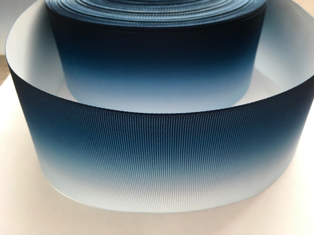Light Blue/Navy Ombre