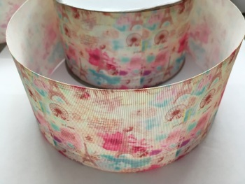 Pastel Paris Grosgrain Ribbon
