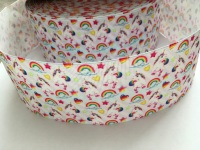Rainbows & Unicorns Grosgrain Ribbon