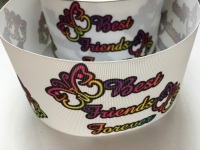 Best Friends Forever Grosgrain Ribbon