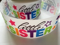 Little Sister Star Grosgrain Ribbon