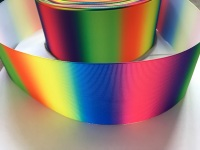 Neon Vertical Ombre Grosgrain Ribbon