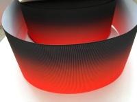 Red/Black Ombre Grosgrain Ribbon