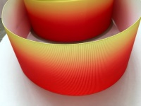 Red/Yellow Ombre Grosgrain Ribbon