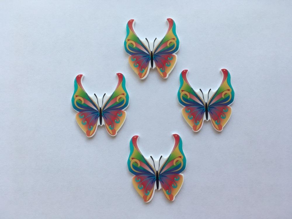 Butterfly Laser Resin