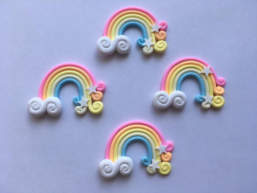 Pastel Rainbow Soft Resin