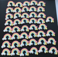 Pastel Rainbow Soft Resin *Seconds*