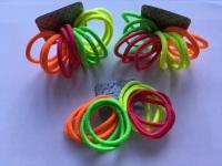 12 Pack Neon Bobbles