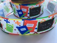 Back To School Grosgrain Ribbon