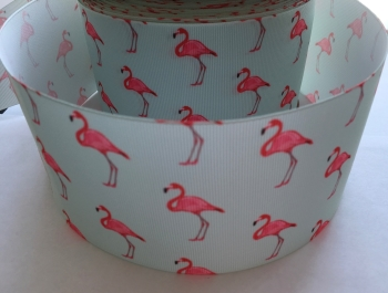 Flamingo Grosgrain Ribbon