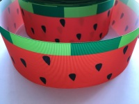 Watermelon Pattern Grosgrain Ribbon