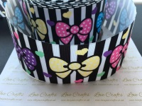 Colourful Bows Grosgrain Ribbon