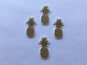 Gold Pineapple Laser Resin