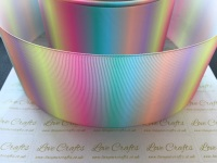 Pastel Rainbow Ombre Grosgrain Ribbon